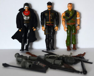 G.I. Joe Sgt. Savage 3 action figures