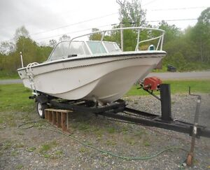 18ft. Fishing boat with trailor