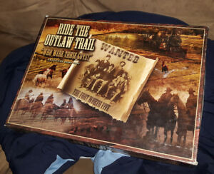 RIDE THE OUTLAW TRAIL: Board Game