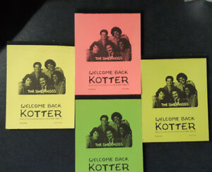 Welcome Back Kotter Notepad