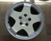 "Set of 16"" silver alloy rims for Honda Odyssey till 2004"