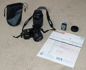 Samsung NX1000 with two lenses and extended warranty!