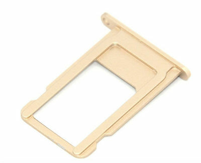 "Apple iPhone 6S Plus 5.5"" Sim Card Holder Slot Sim Card Tray Replacement Gold"