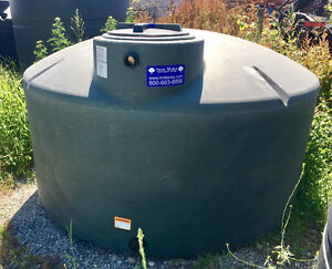 1100 Gallon Low Profile Water Storage Tank - NSF Certified