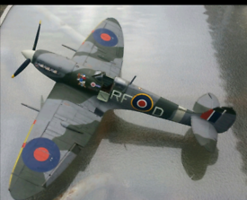 Airfix model spitfire Large 1:24 scale