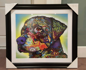 Dog Print - Rottweiler by Dean Russo