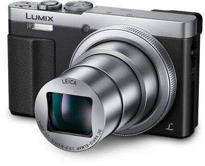 Panasonic DMC-TZ71EG-S Silber Digitalkamera NEU & OVP