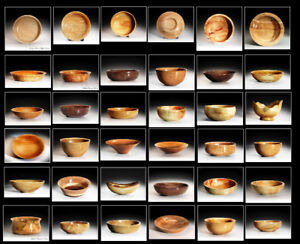 Professionally Turned Wooden Bowls