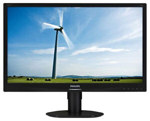 "Moniteur DEL-ACL - PHILIPS 220SW9 - 22"" monitor LED-LCD"