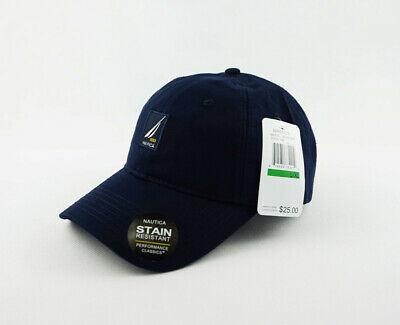Hot Nautica Hat Blue 100% Cotton Unisex Golf Sport Baseball Cap Adjustable New