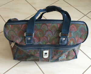 Blue Tapestry Travel Case
