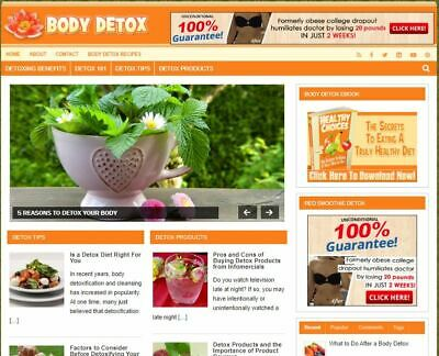 Herbs Benefits Blog - Established Profitable Turnkey Wordpress Website For Sale