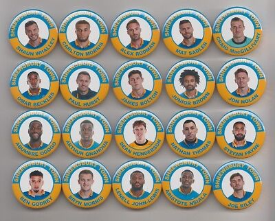 SHREWSBURY TOWN  2017/18 MAGNETS  X20 38mm  IN SIZE