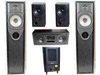 Mission Dolby 5.1 Surround System – ex. What Hi-Fi Best Home Cinema Award Winner!