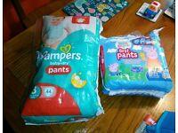 Nappy pants-size 3&4