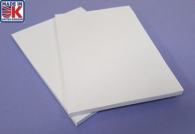 A4 Sketch Pad X 2 Paper Plain White Jotter Notepads Pads Free Postage