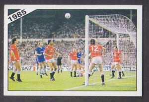 Panini - Football 86 - # 401 Everton v Manchester United 1985 FA Cup Final