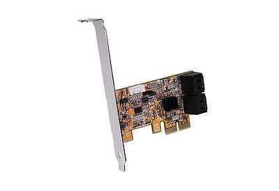 Exsys EX-3516 - PCI-Express SATA 3 RAID 0/1 Controller für 4 HDD und SSD Drives