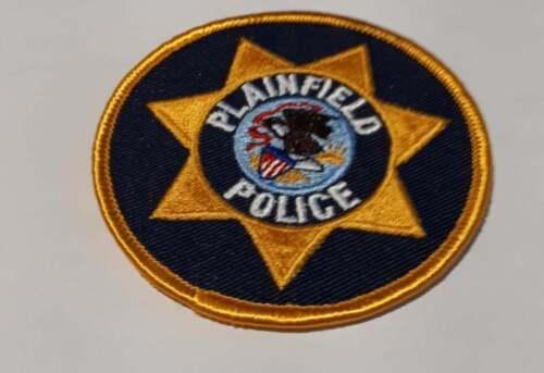 Plainfield New Jersey NJ Police Patch Vintage