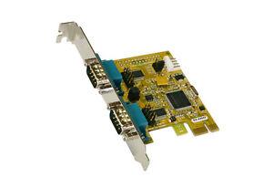 EXSYS-ex-44042-PCI-RAPIDO-MAPPA-2x-di-serie-RS-232-Moschip