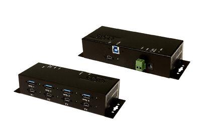 Exsys EX-6685HMV - USB 3.0 + FireWire 1394B Metall-Hub mit je 4 Ports