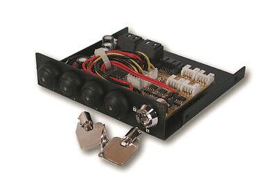 Exsys EX-3466-2 - Festplattenumschalter von 1 SATA2 bis 4 SATA2 Festplatten