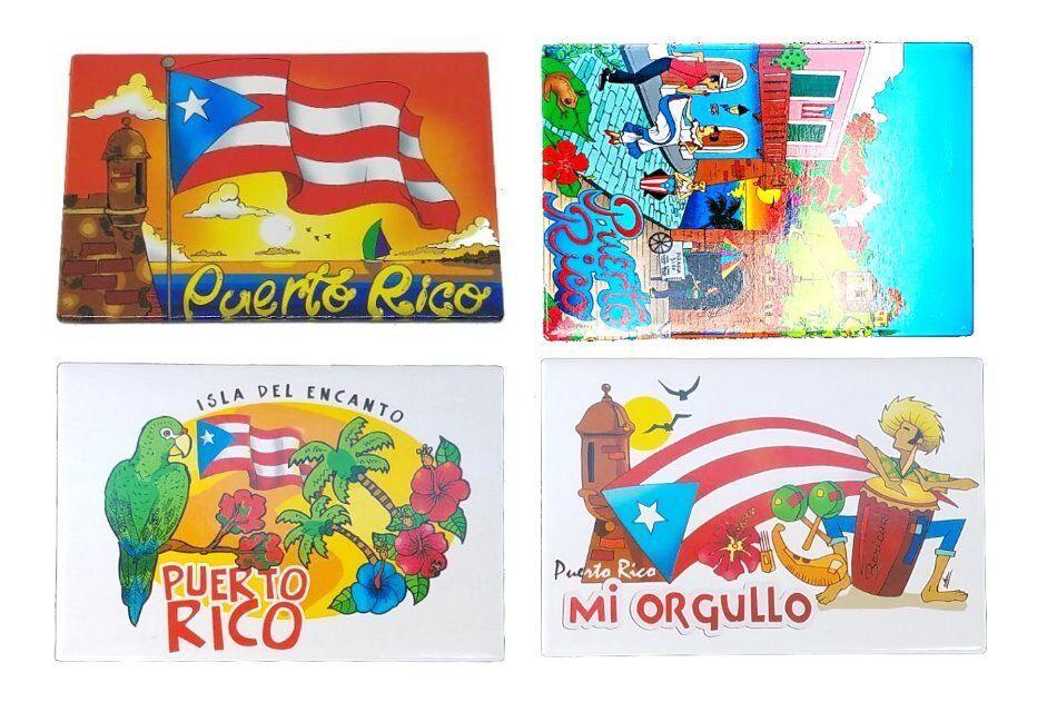 Puerto Rico Old San Juan Magnet Refrigerator Souvenirs Boriua Rican Magneto PR