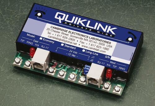 Quiklink Two-Way Automatic Ringdown Module (telephone hotline unit)