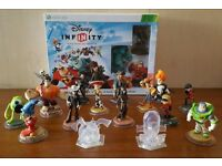 XBOX 360 Disney Infinity 1.0 Starter Pack with additional figures