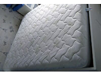 Ikea size double mattress for sale - owned less than 6 months - memory foam