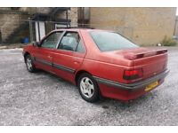PEUGEOT 405 GTX TURBO DIESEL 1995 F/S/H ONE OFF CLASSIC OWNED 10YRS