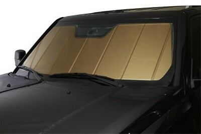 Heat Shield Gold Sun Shade Fits 16 17 Chevrolet Malibu Without Mirror Camera Opt