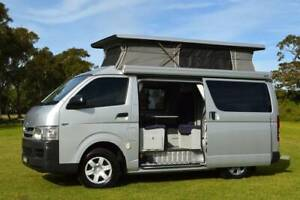 Toyota Automatic Frontline Campervan with 5 Seats, Shower & Low Km! Albion Park Rail Shellharbour Area Preview