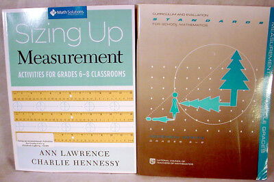 (Sizing Up MEASUREMENT Activity Workbook LOT Middle Home SCHOOL Math STANDARD)