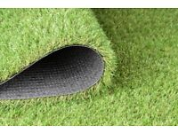 Hillside Artificial Grass Lawn 30mm Pile Extra Thick Ultra Realistic £16.99 Per Square Metre