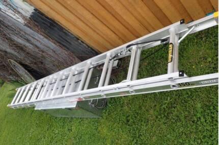 LADDER -  BRAND NEW Extendable Aluminium HEAVY DUTY 7.8meters