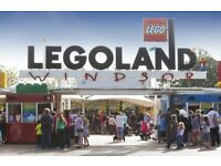 2x Legoland tickets for sale - valid on 23/06/2018 - feltham high street