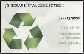 J's Scrap Metal & Rubbish Collection Wirral