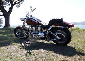 Harley Davidson Softail FXSTC Custom 1989 Willie G Signed. Hornsby Hornsby Area Preview