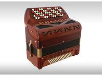 VICTORIA POETA PRINCIPE 96 Bass Chromatic Button Accordion