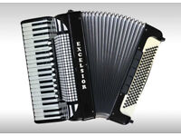 EXCELSIOR Model 1320 - 120 Bass Piano Accordion