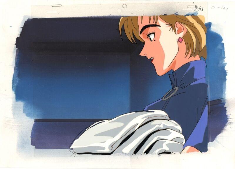 Anime Production Cel Evangelion #112