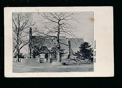 Cheshire ODD RODE Church Used 1908 PPC
