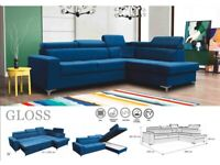 🌷🌷CLEARANCE STOCK MUST GO🌷🌷BRAND NEW GLOSS SOFA BED🌷🌷AVAILABLE NOW🌷🌷