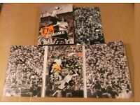 U2 dvds,live x3 ,boston,slane castle chicago,all vgc ,collectors sets