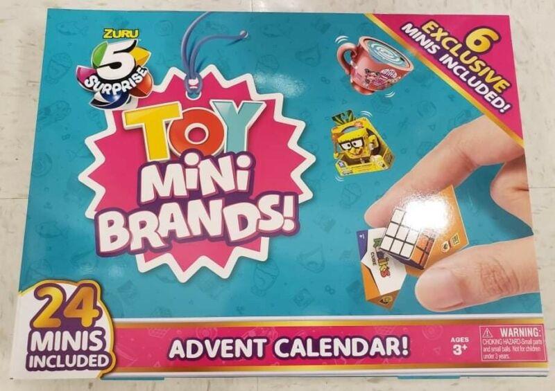 Zuru 5 Surprise Mini Brands Toy Advent Calendar