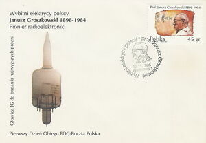 Poland FDC (Mi. 3564) J. Groszkowski #1 - <span itemprop=availableAtOrFrom>Bystra Slaska, Polska</span> - Poland FDC (Mi. 3564) J. Groszkowski #1 - Bystra Slaska, Polska