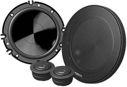 "Fusion Black Edition En-cm652 6"" 240w 2 Way Split Speakers NEW"