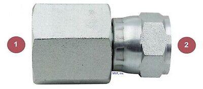 1 Female Nptf X 1 Female Jic Swivel Pipe To Flare Adapter Hydraulic 6506-16-16