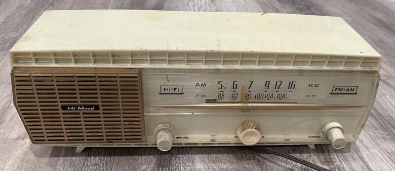Rare Vintage 1960's Sansei Hi-Mood AM/FM Tube Radio, AM Works